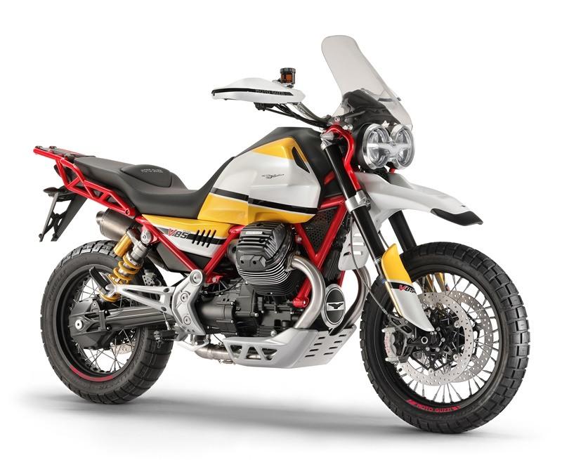 Novedades Moto Guzzi 2.018 en Milán, con la trail  V85 a la cabeza