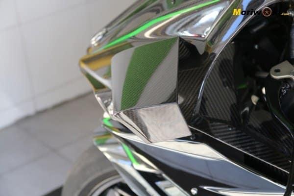 Kawasaki H2R en venta alerón