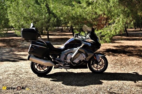 La BMW K1600GTL, una de las motos más cómodas del mercado.