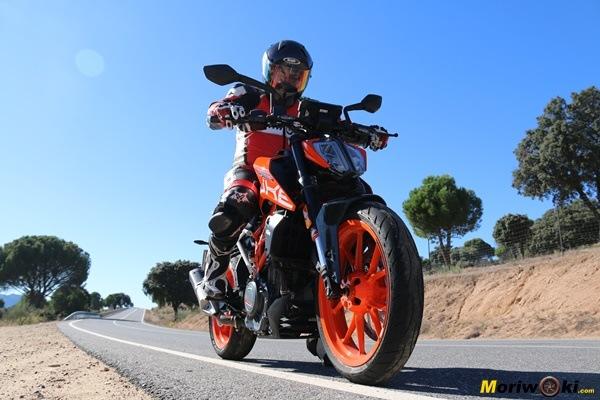 KTM 390 Duke: Un juguete diabólico