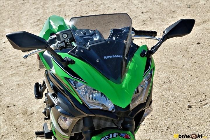 Kawasaki Z650-Ninja 650 espejos