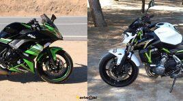 Kawasaki Z650 & Ninja 650: En el término medio. Prueba a fondo
