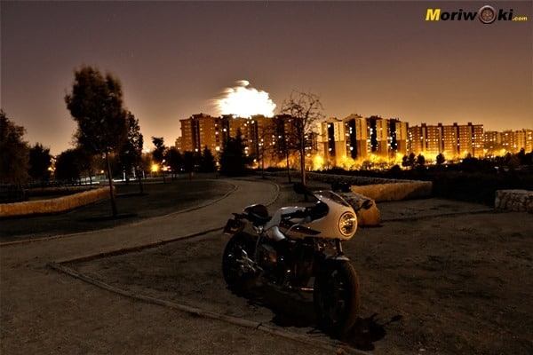 La Noche Vieja en moto Portada