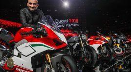 Resultados de ventas Ducati en 2.017