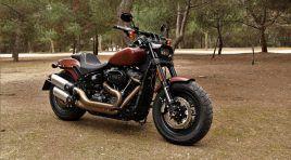 Harley Davidson Fab Bob: La cruiser más robusta y galáctica