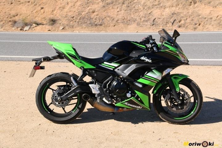 Kawasaki Z650-Ninja 650 performance