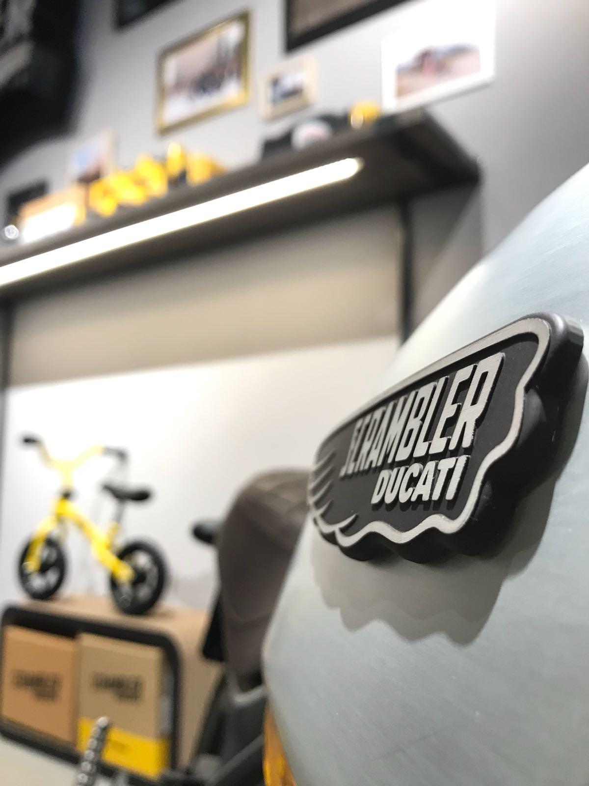 Tienda Scrambler de Ducati en Barcelona