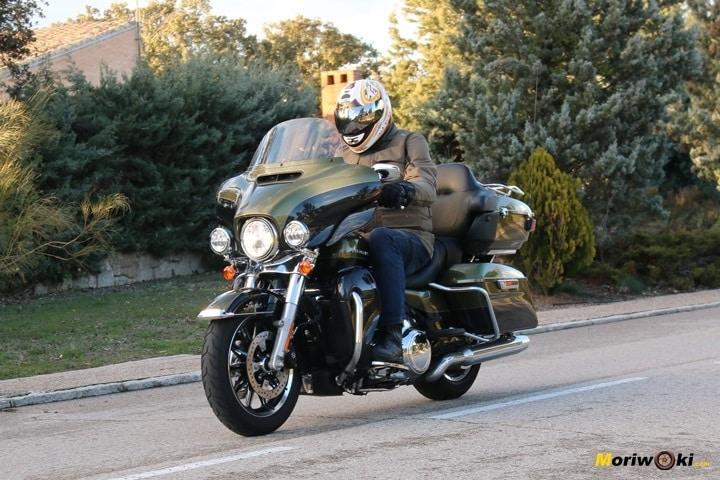 Harley Ultra limited llegando