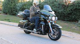 Harley Davidson Ultra Limited, su majestad