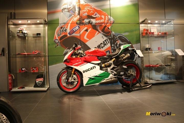 Inauguración de Ducati Madrid zona deportiva