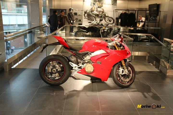 Inauguración de Ducati Madrid planta superior