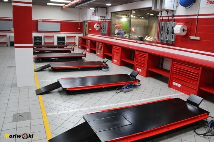 Inauguración de Ducati Madrid servicio técnico