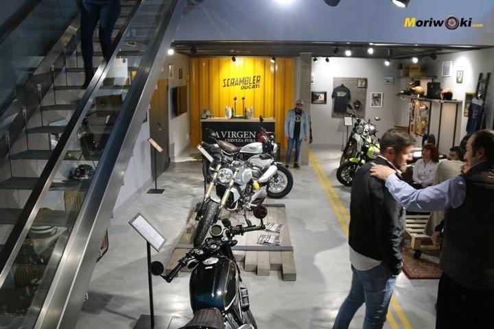 Inauguración de Ducati Madrid planta inferior