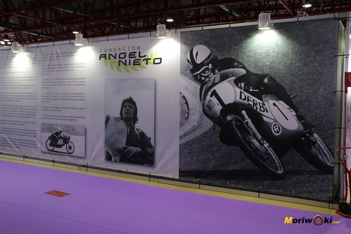 Moto-Madrid-2018- stand Angel-Nieto