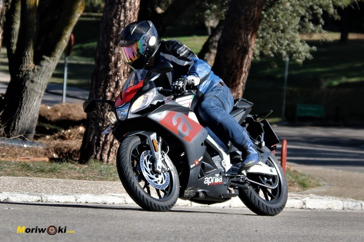 Prueba Aprilia RS 125 1