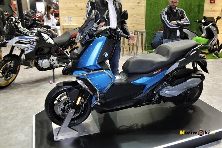 Vive la moto BMW C400X