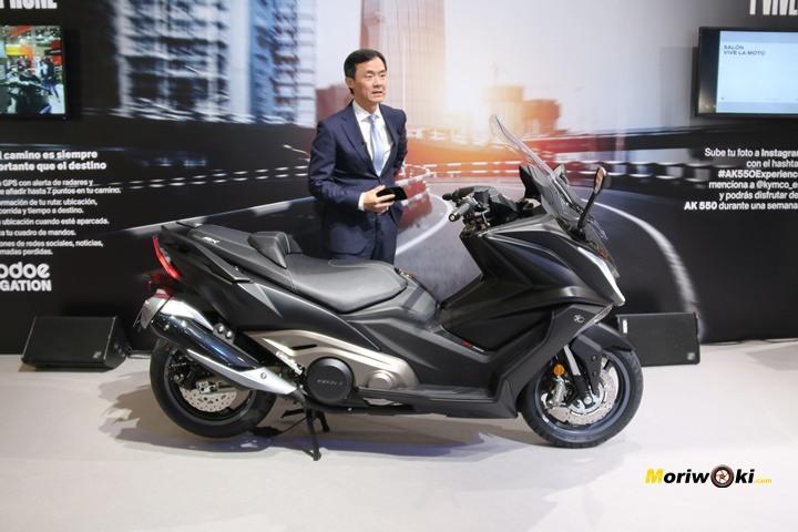 Vive la moto kymco ak550