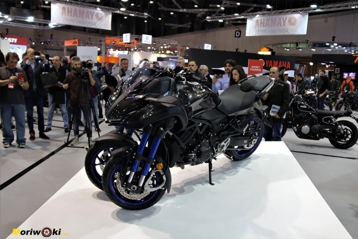 Vive la moto yamaha niken