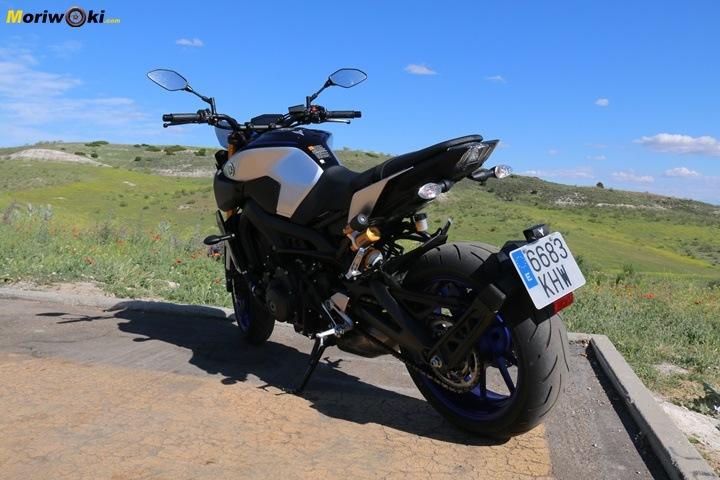 Prueba Yamaha MT-09 SP trasera