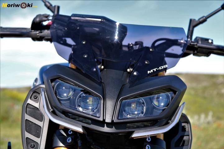Prueba Yamaha MT-09 SP faro