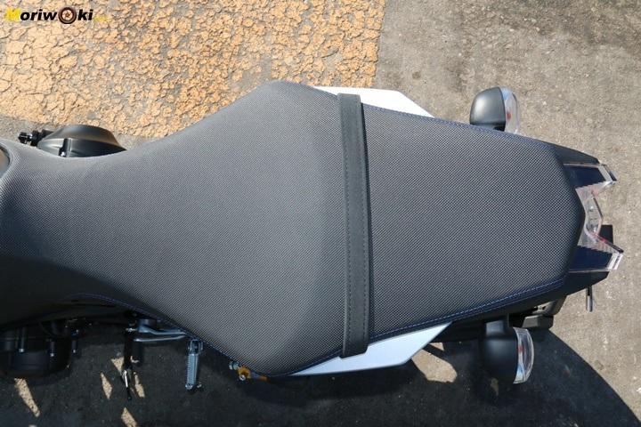 Prueba Yamaha MT-09 SP asiento