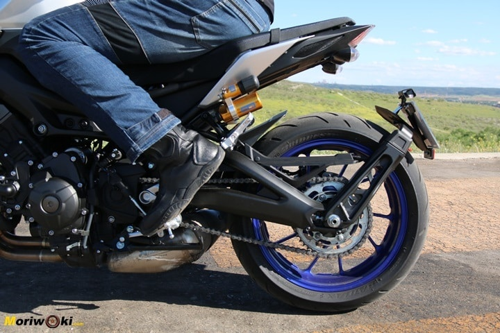 Prueba Yamaha MT-09 SP porta