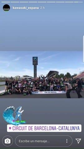 European-Kawasaki-Z-Cup-2018-Montmeló. Familia
