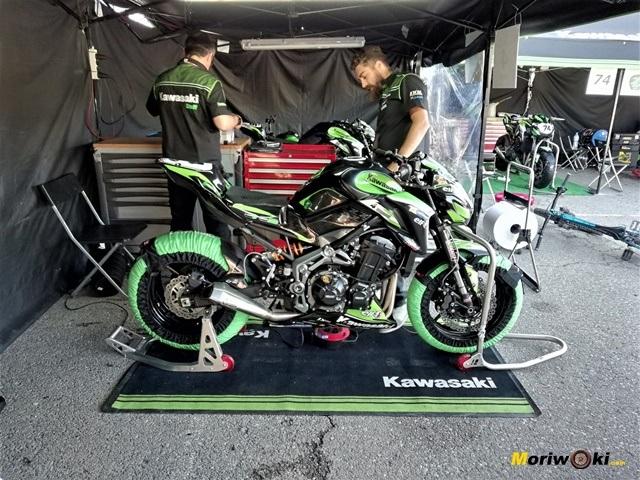 European-Kawasaki-Z-Cup-2018-Montmeló. Z número 4