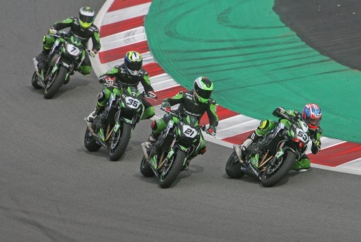 European Kawasaki Z Cup Montmeló clasificación