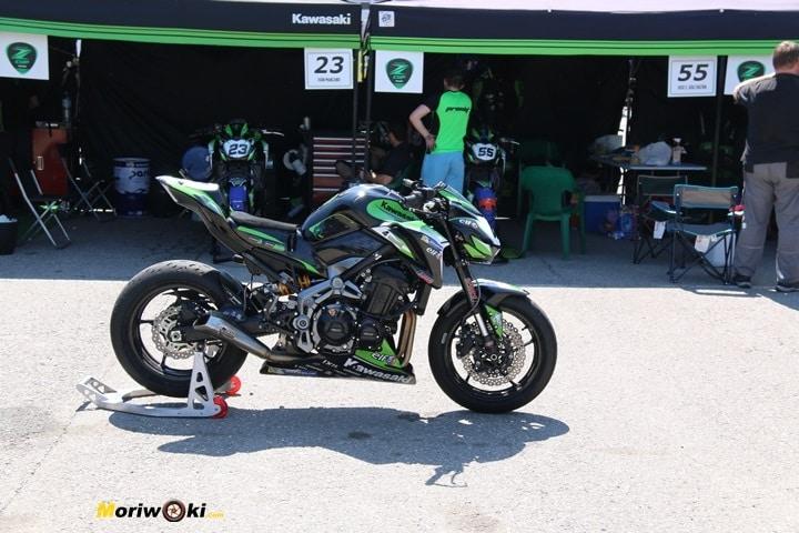 European Kawasaki Z Cup Montmeló 2018 planta izquierda