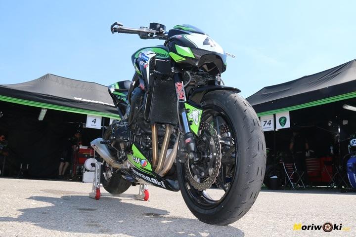 European Kawasaki Z Cup moriwoki m