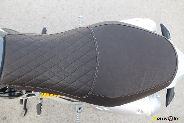 Ducati Scrambler 1100 Special Prueba asiento