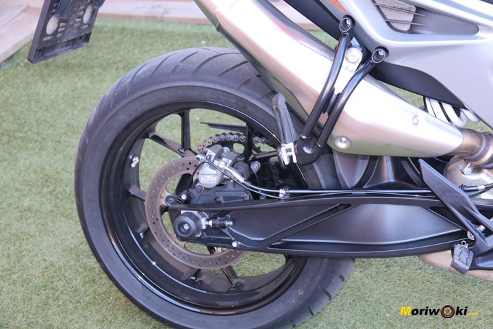 Pruebas KTM 790 Duke escape