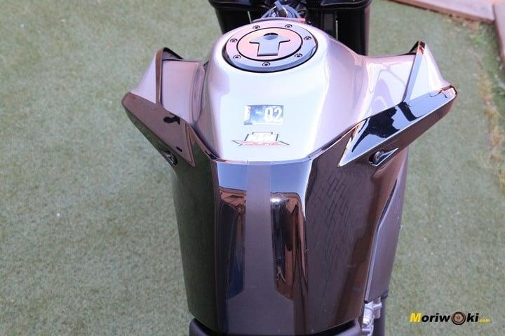 Prueba KTM 790 Duke depósito