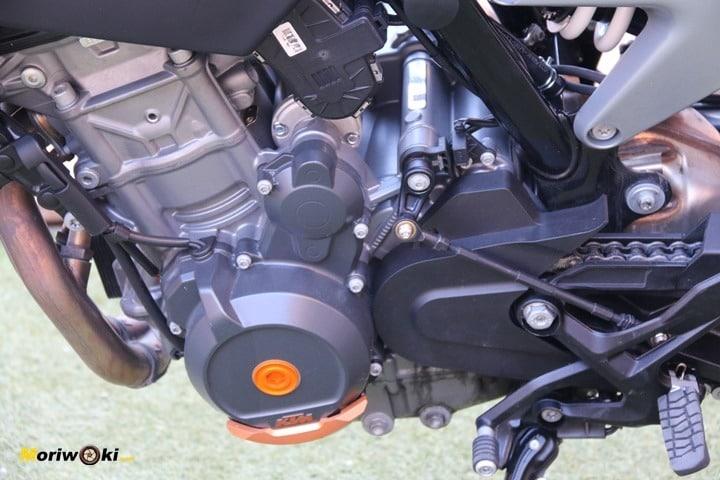 Prueba KTM 790 Duke motor i