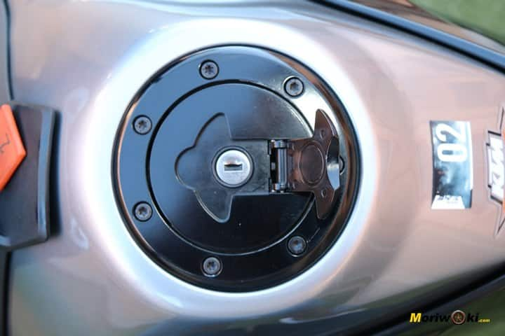 Prueba KTM 790 Duke tapón