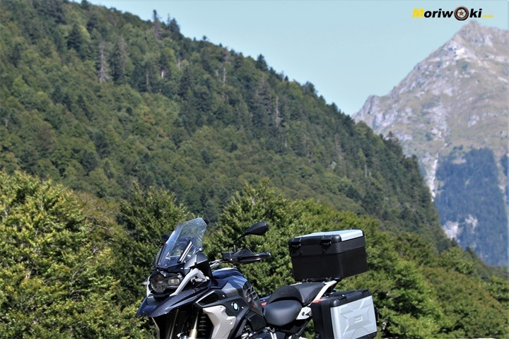 BMW R1200GS prueba off road