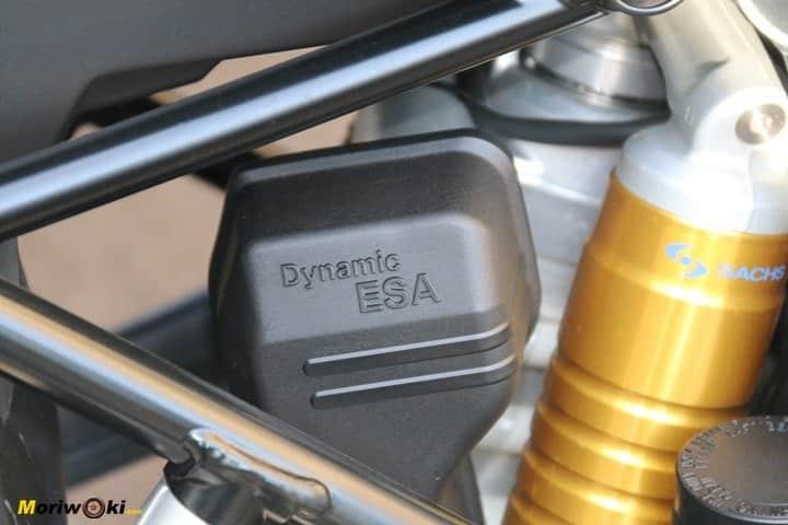 Prueba BMW R1200GS ESA