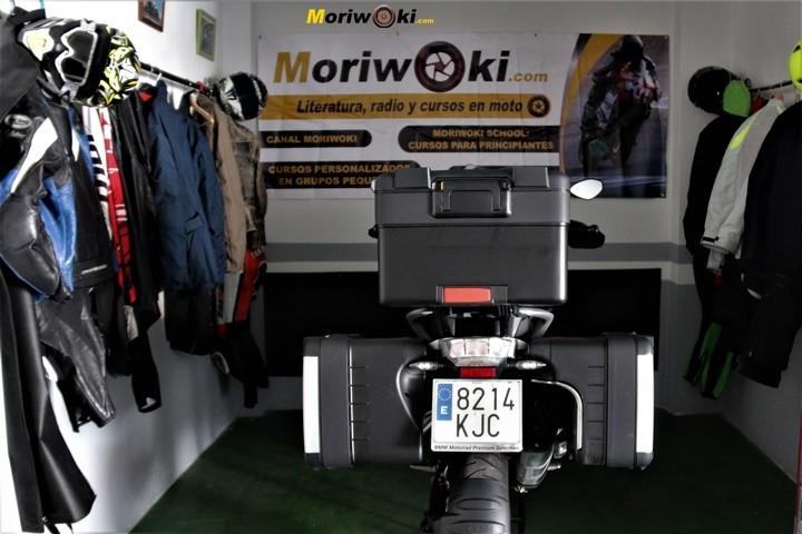 BMW R1200GS prueba maletas 2