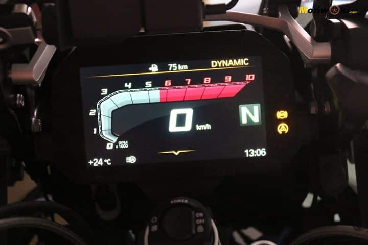 BMW R1200GS prueba información