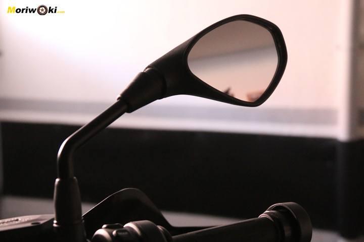 BMW R1200GS prueba espejo