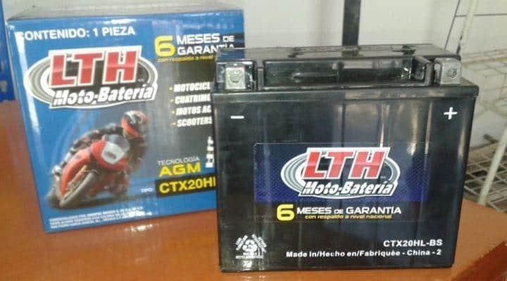 Moto batería LTH
