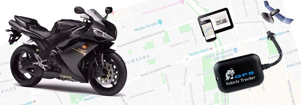 Localizador GPS para moto