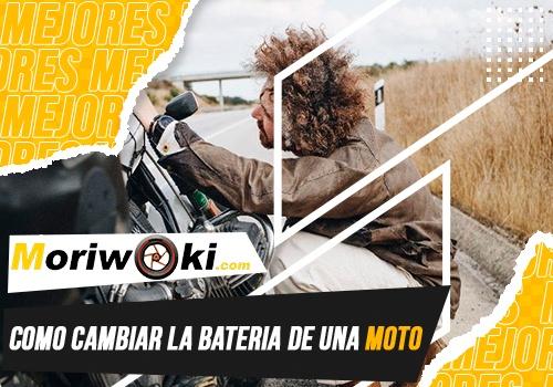 como cambiar la bateria de una moto