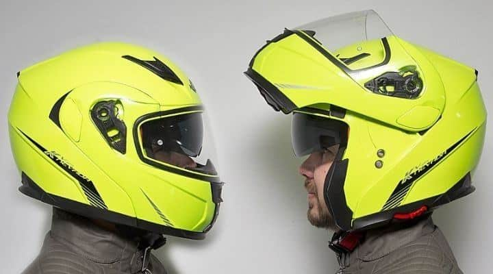 casco modular abatible
