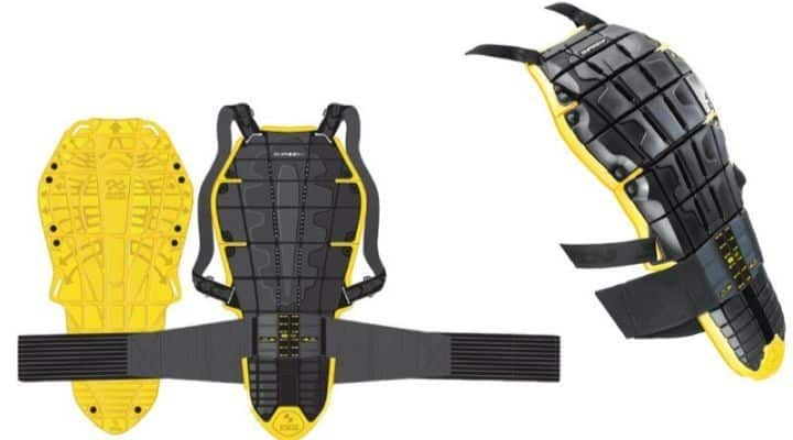 espaldera SPIDI Back Warrior Evo Protector