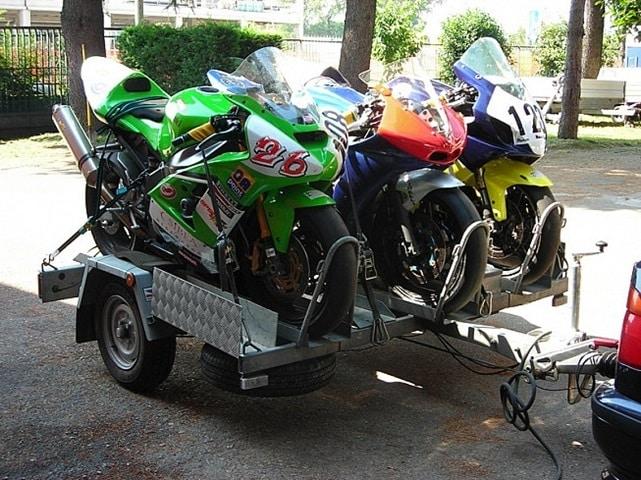 Tipos de remolques para motos