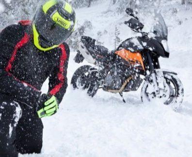 Guantes de moto para inverno
