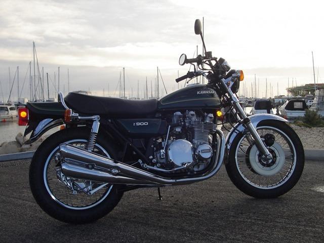 Así era la Kawasaki Z900 de 1.976
