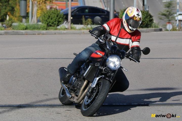 Callejeando con la Kawasaki Z900RS